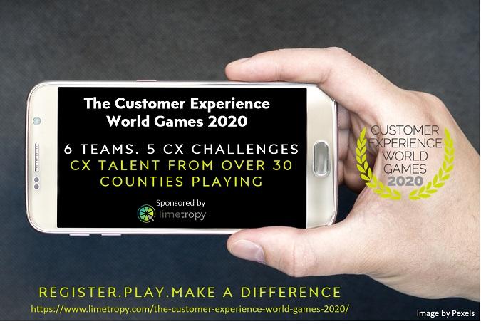 Limetropy CX World Games Mobile app advert